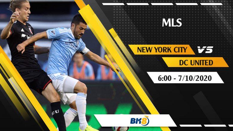 Soi kèo BK8   New York City vs DC United – 6h ngày 7/10/2020